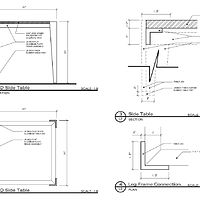 ACID Table- Fabrication Drawing by John Greg Ball