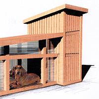 Doghaus- concept by John Greg Ball