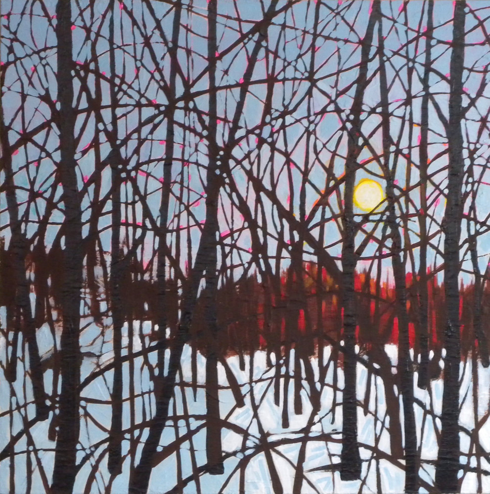 Painting Tangle Wood #2 by Gordon Sellen