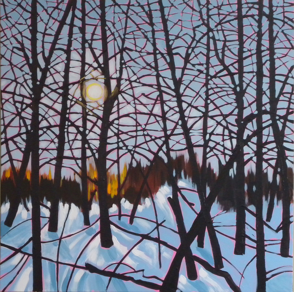 Painting Tangle Wood #3 by Gordon Sellen
