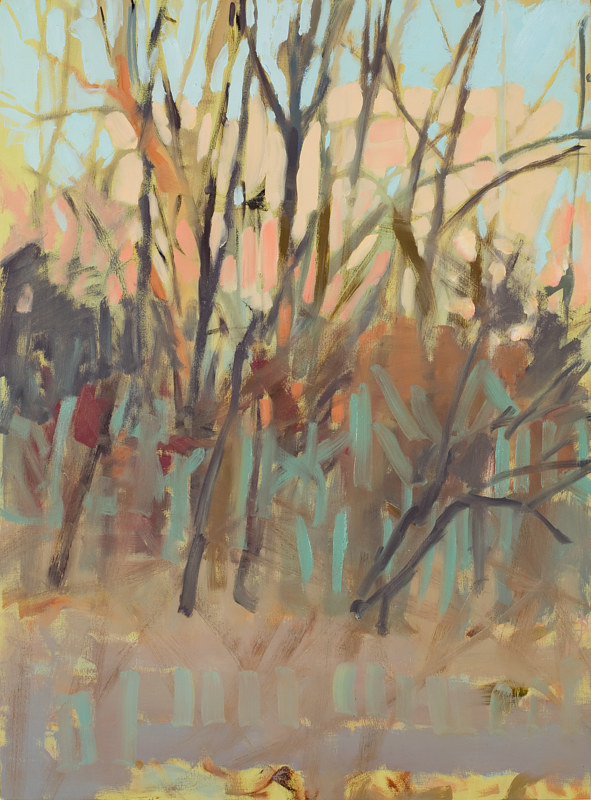 Oil painting Thicket no.3 by Shawn Demarest