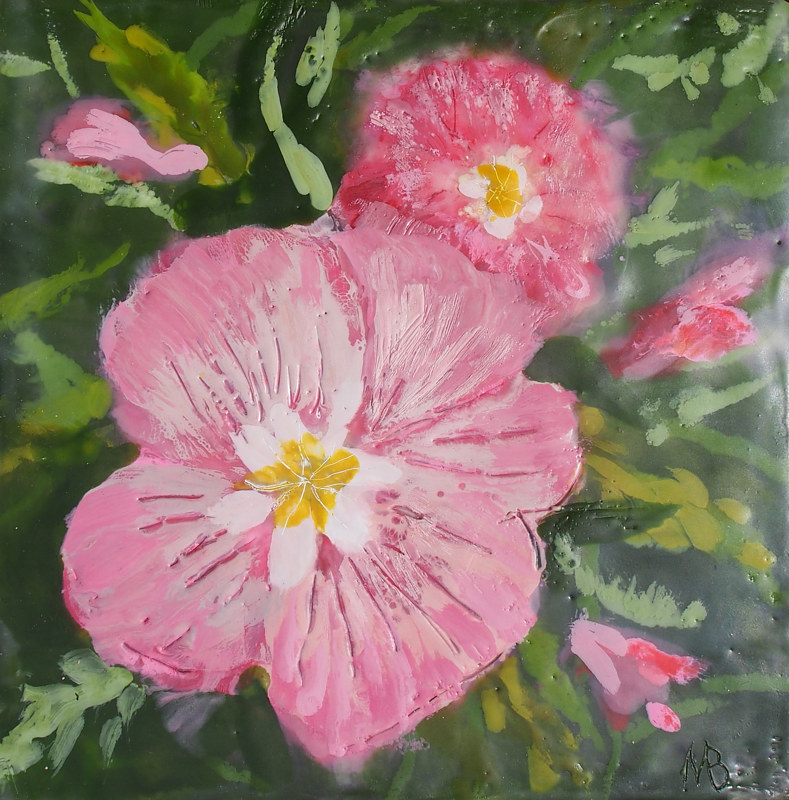 Pink Delight by Michele Barnes