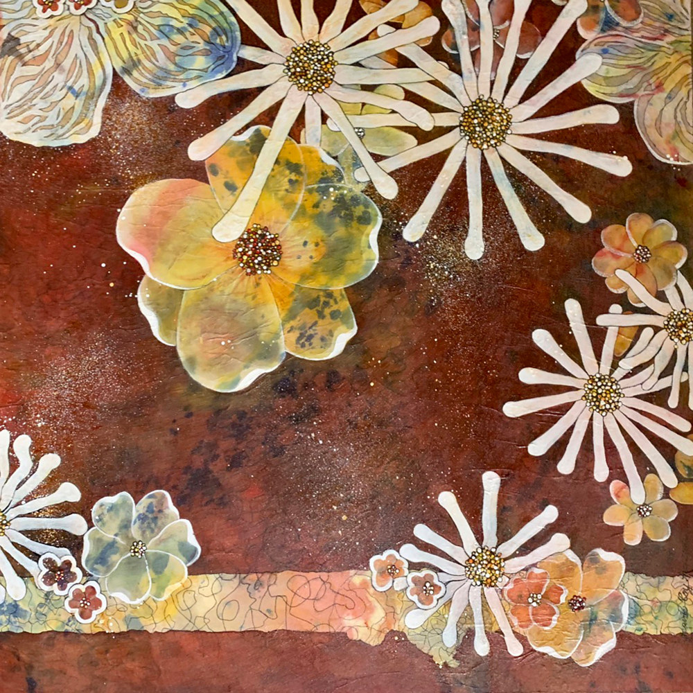 Floral Play, 1   by Jeanie Auseon