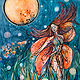 Print Tiger Lily Woman (946x1280) by Kiley Yttri