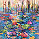 Acrylic painting Shimmer and Sparkle by Marty Husted