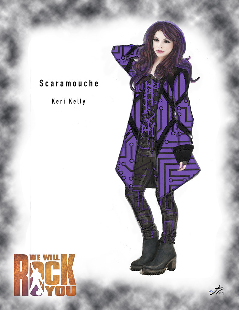 Scaramouche by Angela Dale