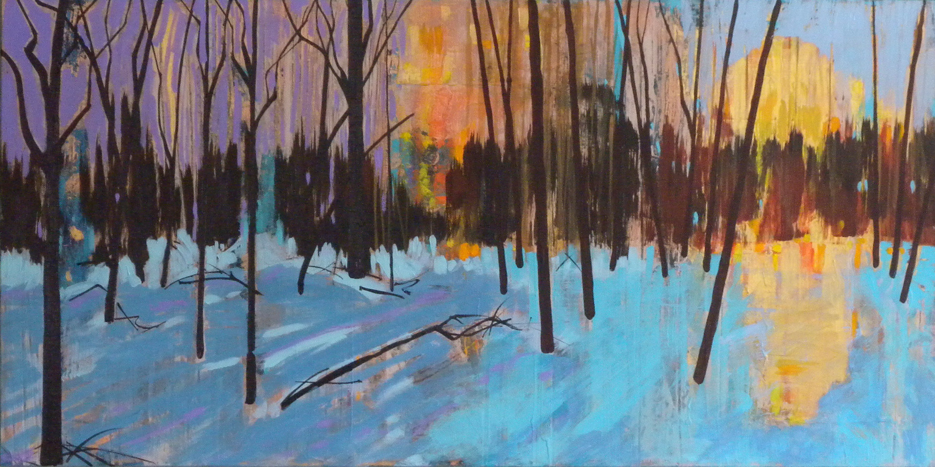 Painting Kolapore by Gordon Sellen