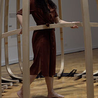 Sculpture A song, a felt structure: We are putting ourselves back together again, 2019 by Tanya  Lukin-linklater