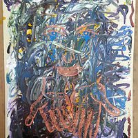 Acrylic painting Chaos by Matt Kantor