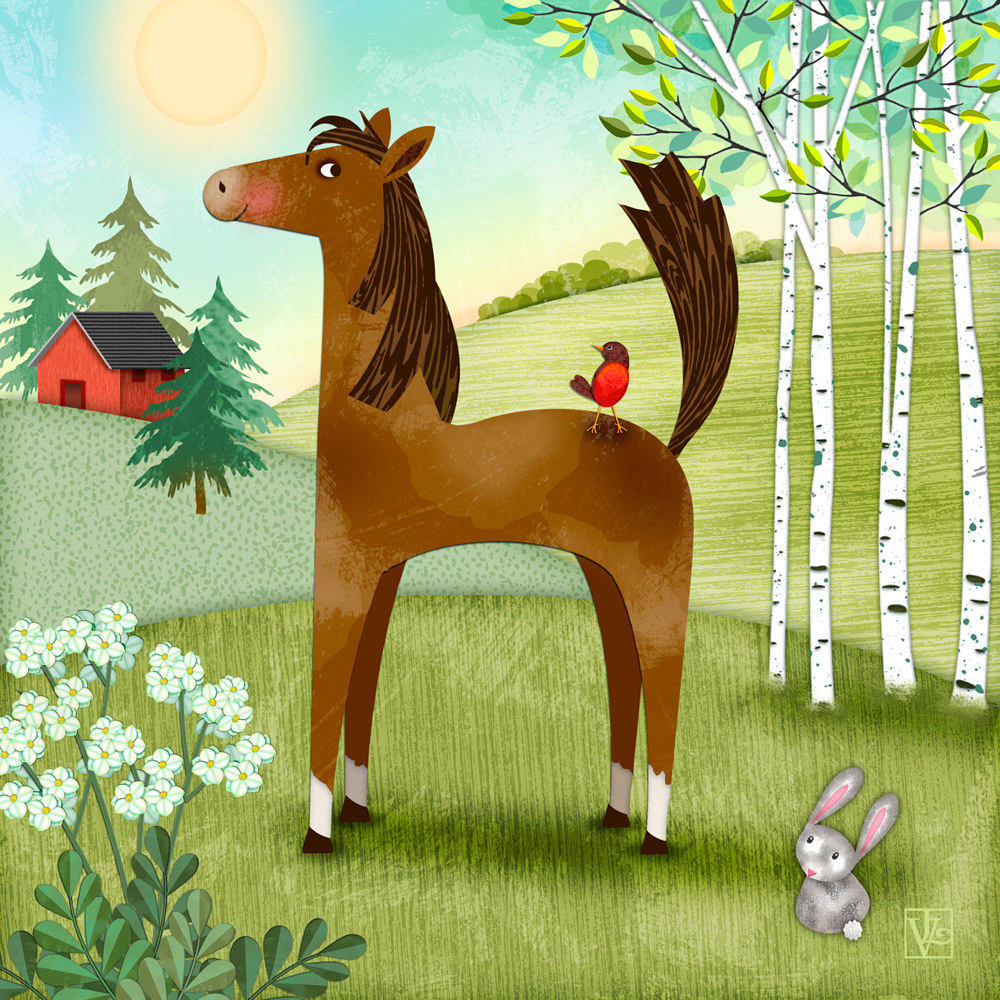 H is for Henry the Horse by Valerie Lesiak