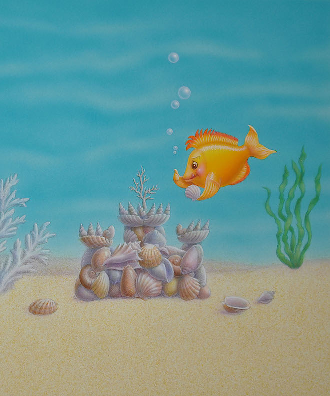 Sandcastle by Sue Ellen Brown