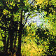 Acrylic painting Breakthrough by Bryan  Coombes