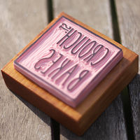 Crouch Street Bakes logo stamp by ROSE WILLIAMS