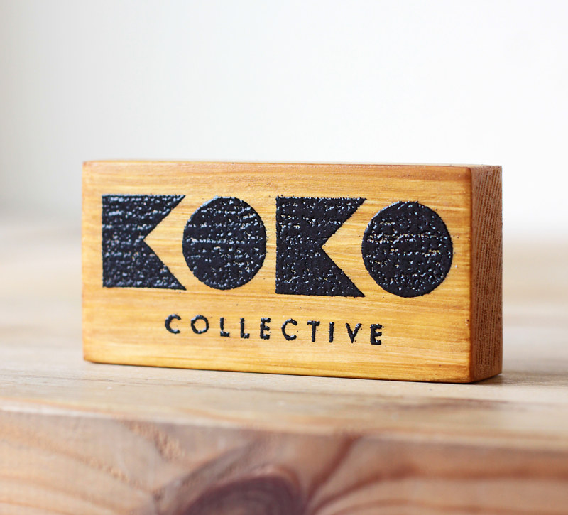 KOKO Collective logo stamp by ROSE WILLIAMS