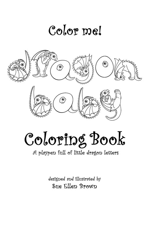 Color me! Coloring Book by Sue Ellen Brown
