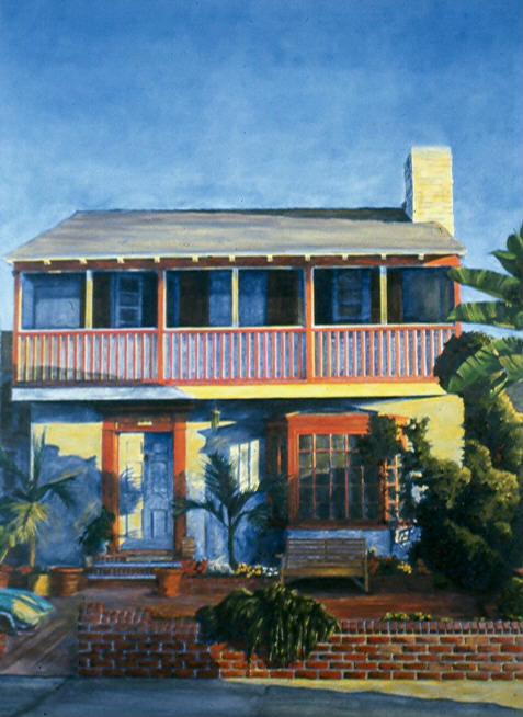 24 21st Street, Hermosa Beach 1992 by Robert Milling