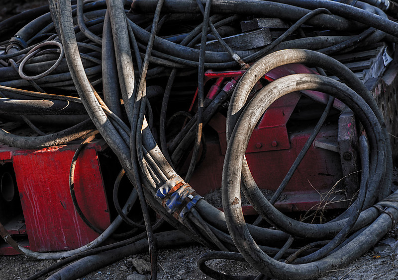 """Cable Snake Pit"" by Hunter Madsen"
