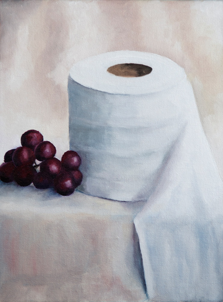 Oil painting Still life March 2020 by Kathleen Gross