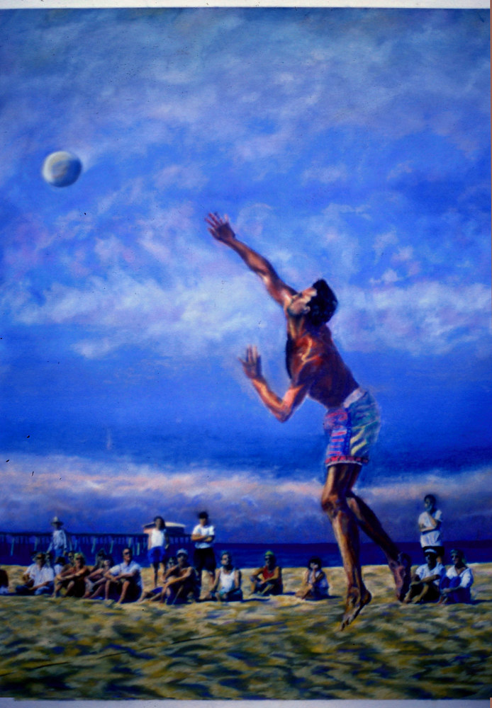 WP Ack Jump Serve 1994 by Robert Milling