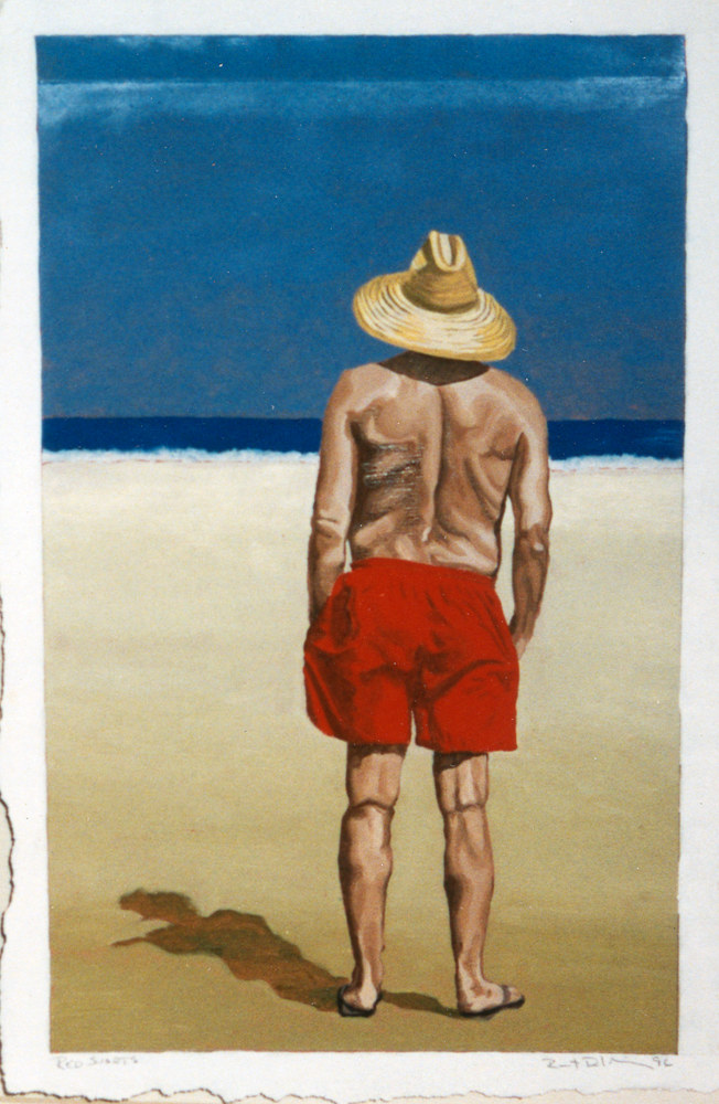WP Red Shorts 1997  by Robert Milling