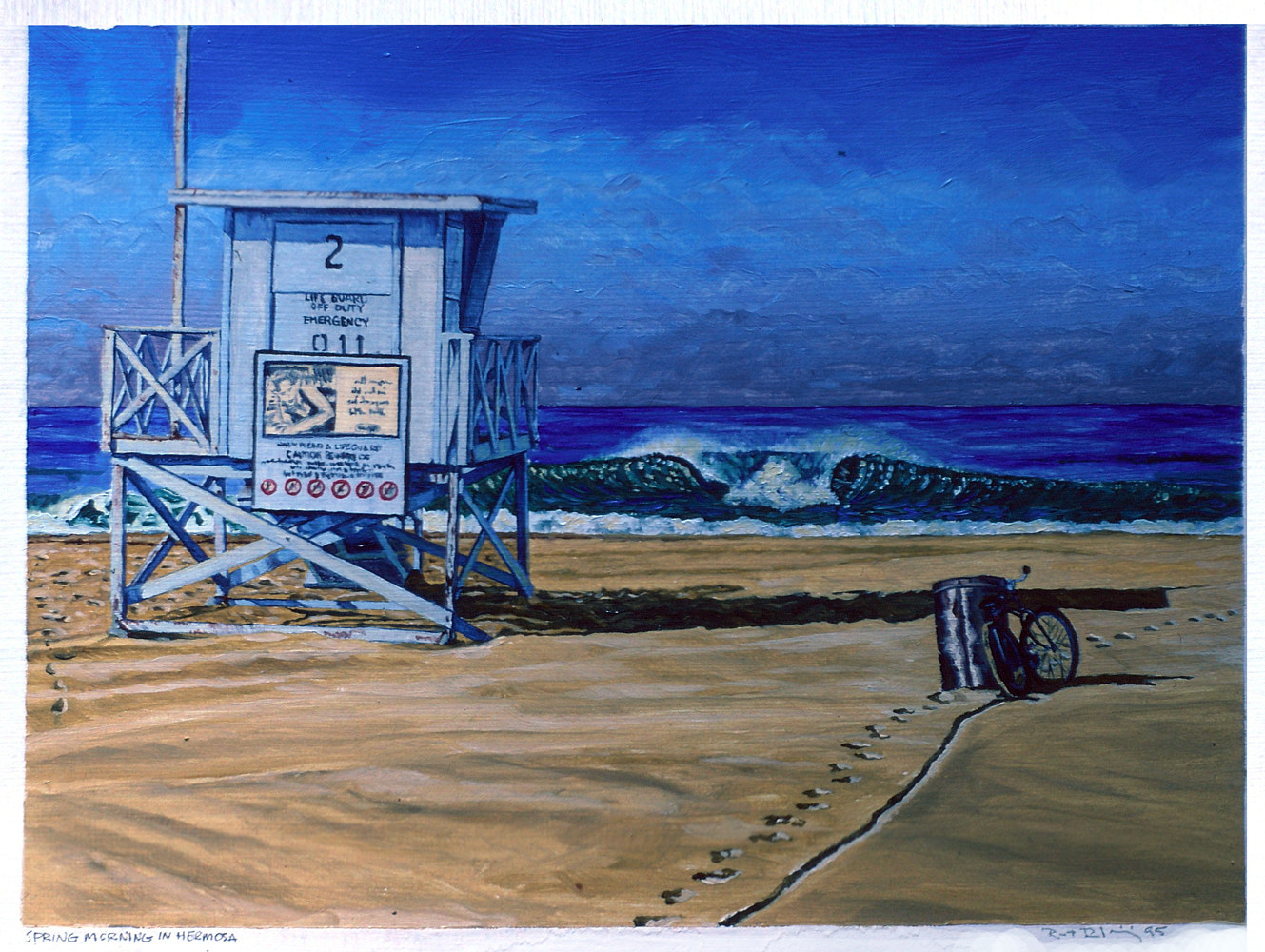 WP Spring Morning in Hermosa 1995  by Robert Milling
