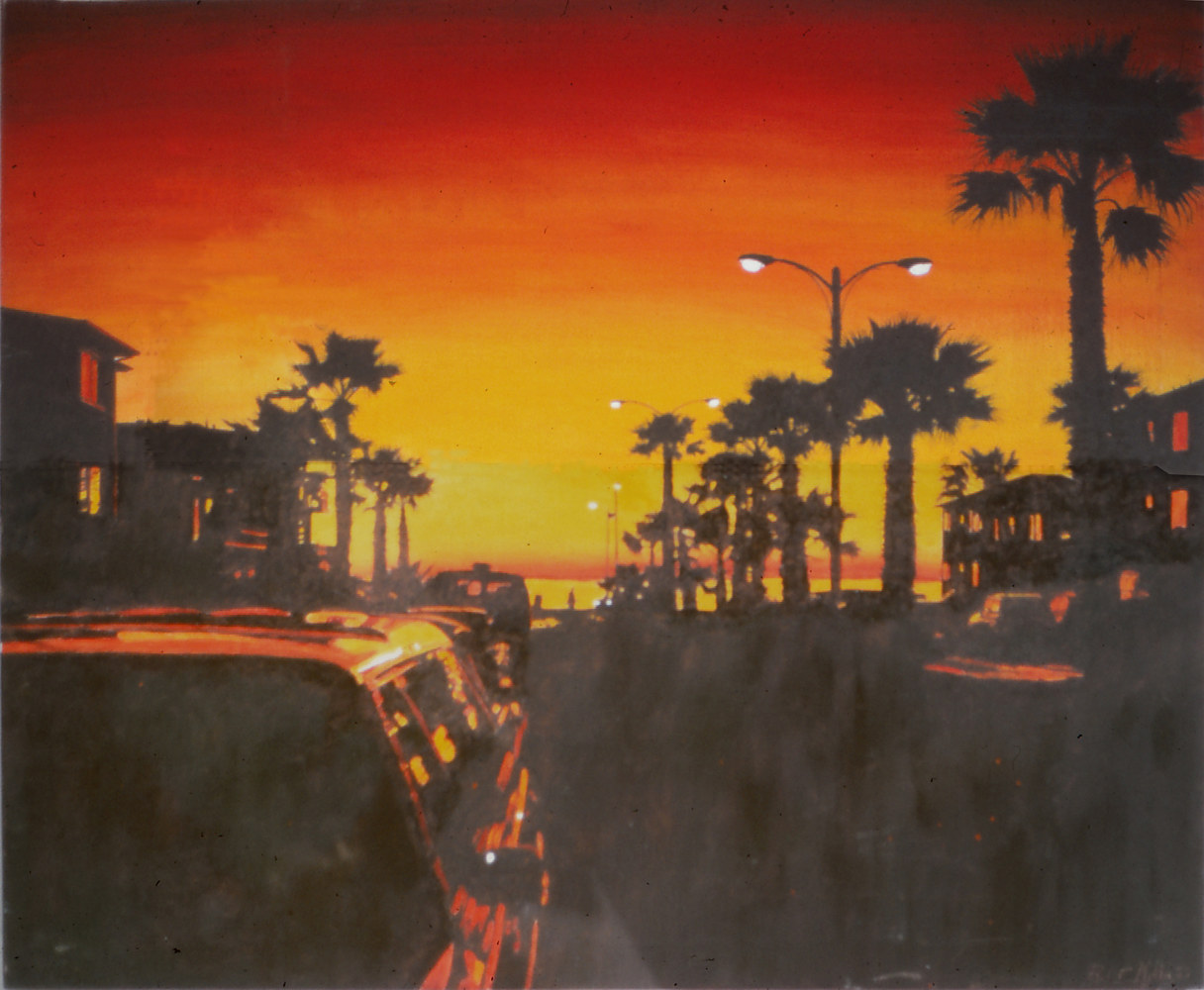 Riviera Sunset 1993  by Robert Milling