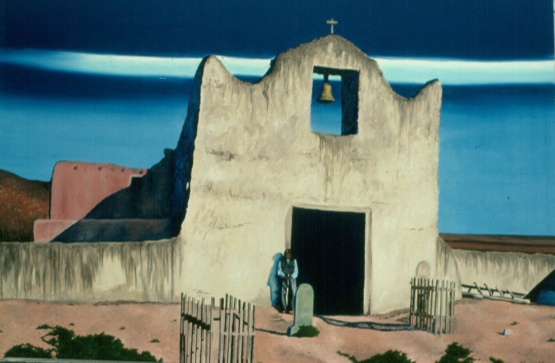 commission Untitled Southwest Theme 1989  by Robert Milling