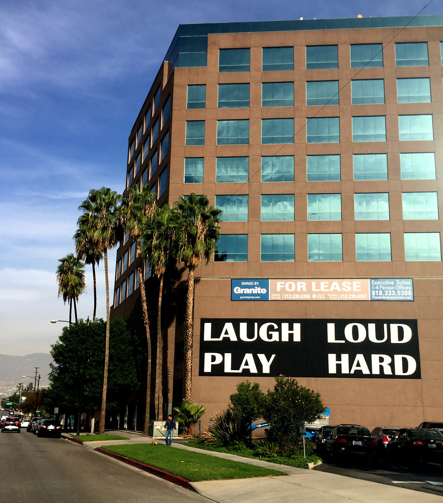 Laugh Loud Play Hard by Robert Milling