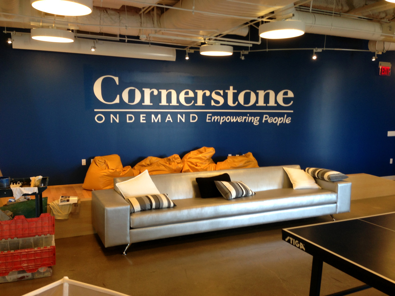 Cornerstone Logo by Robert Milling