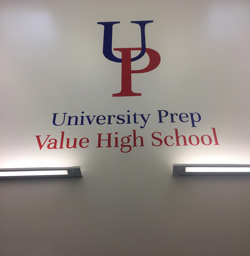 University Prep logo by Robert Milling