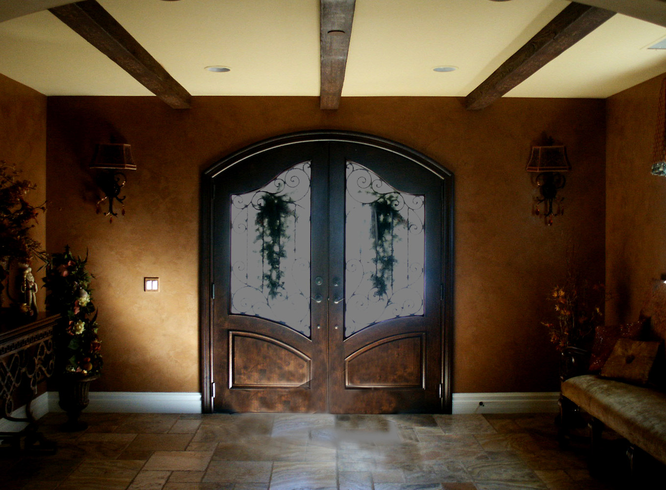 AnaheimHills Brown Venetian Entry web by Robert Milling