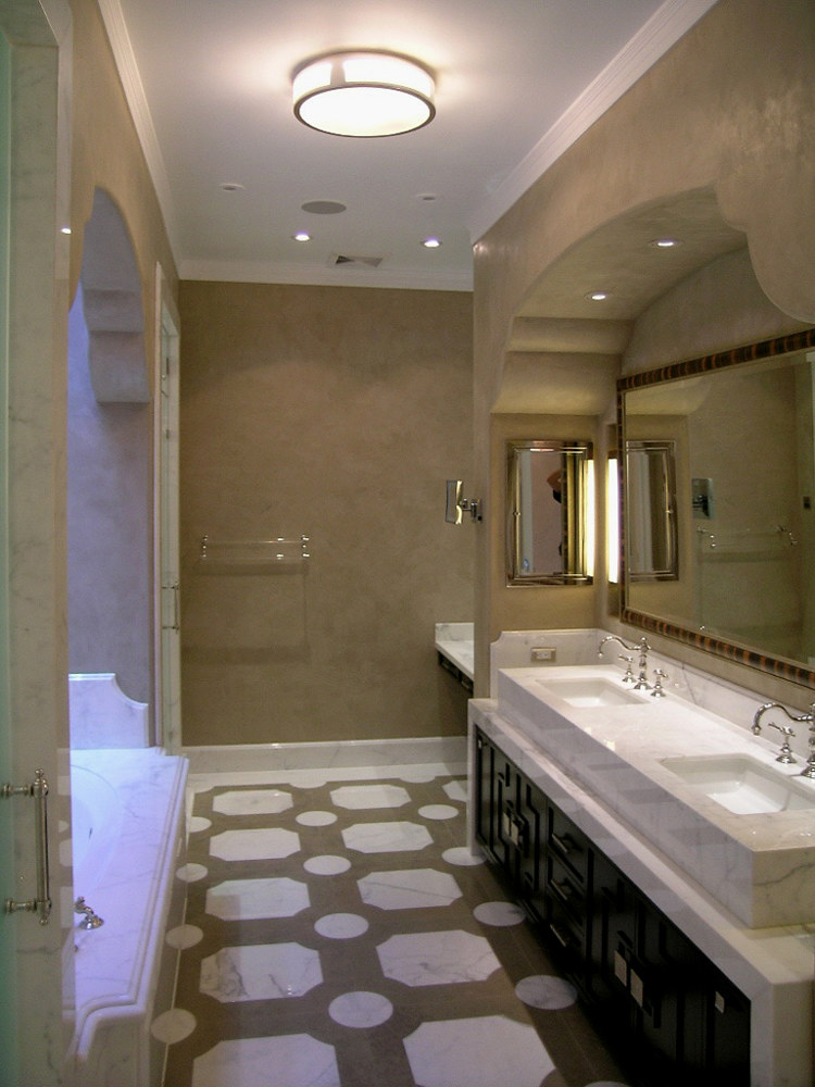 Palos Verdes Powder room Venetian web by Robert Milling