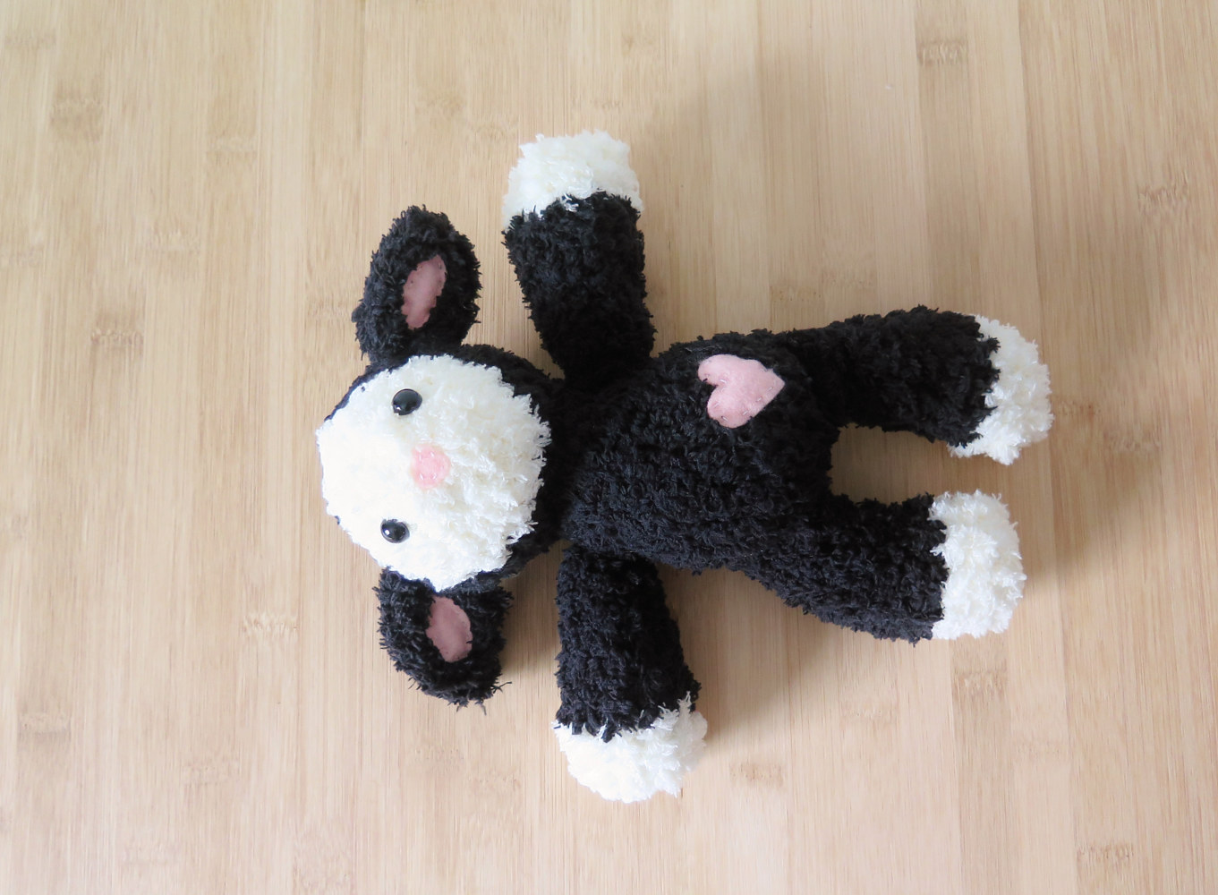 Oil painting Agneau - vue de face by Genevieve Desy