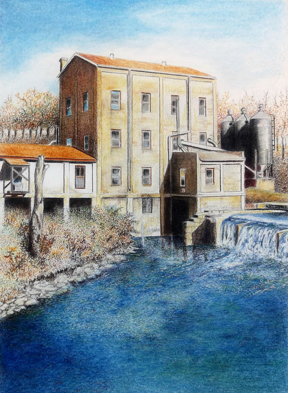 Print Weisenberger Mill by David Neace