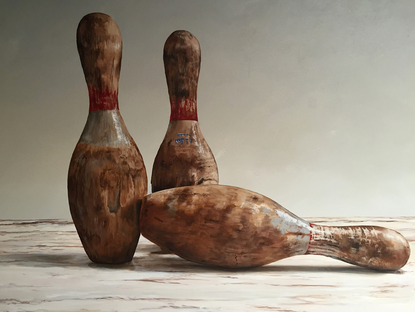 Bowling Pins by Robert Milling
