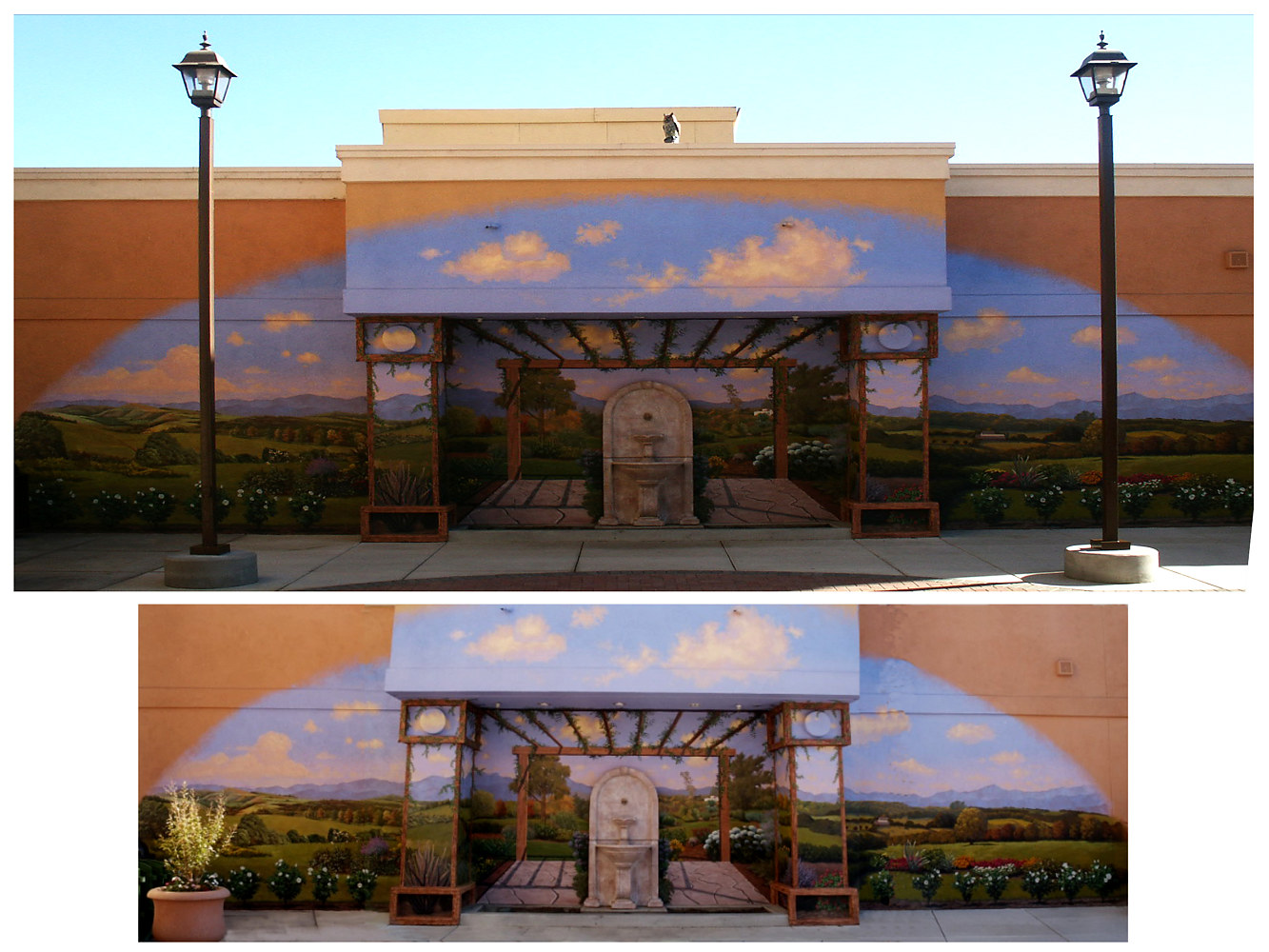 Elsinore Outlet Mall Mural Project 3 by Robert Milling