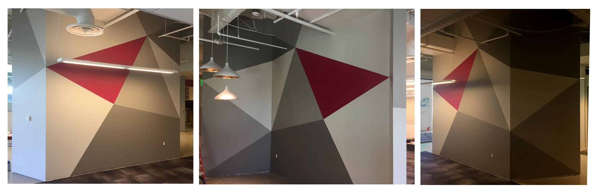 Graphic Mural for Office by Robert Milling