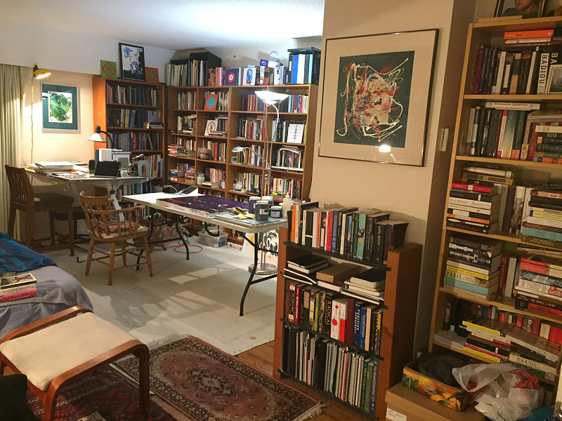 Studio and Library by Timothy J Sullivan