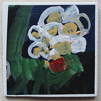 Acrylic painting Night Bouquet  by Harry Stooshinoff