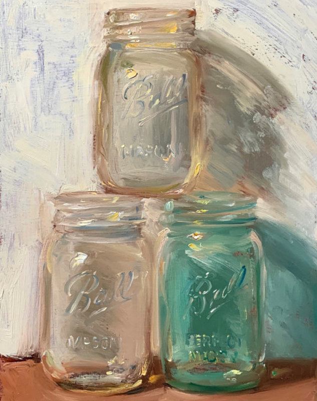 """Three Jars""  by Noah Verrier"