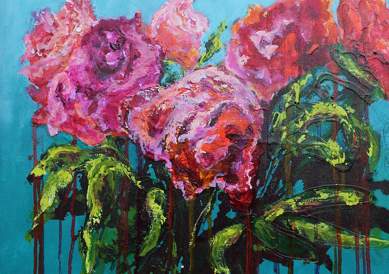 Acrylic painting After Mother's Day by Passionate Painters