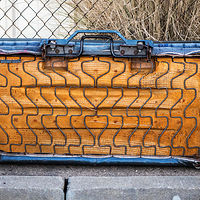 """Junked Bench Seat"" by Hunter Madsen"