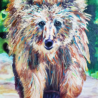 Acrylic painting Ted by Passionate Painters