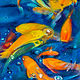 Oil painting Friday Fish XV by Raymond Noesen