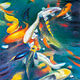 Oil painting Friday Fish XX by Raymond Noesen