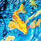 Oil painting Friday Fish XXXIV by Raymond Noesen