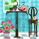 T is for Table, Tabby, and Tulips by Valerie Lesiak