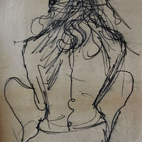 Drawing Nude by Eveline Wallace