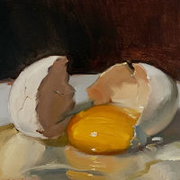 """Cracked Egg"" by Noah Verrier"
