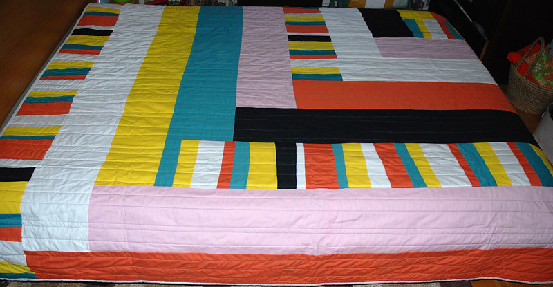 allsorts quilt by Stephanie Cormier